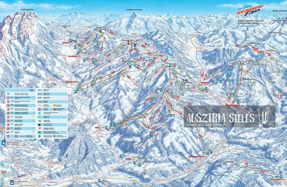 Kitzbühel_sítérkép